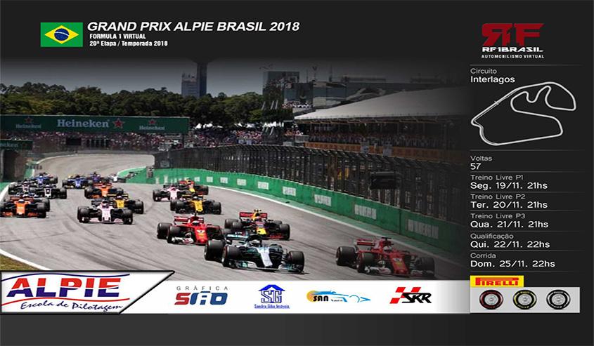 GP Interlagos - 20ª Etapa